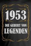 1953 - Die Geburt von Legenden ;-)