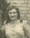 1940er - Marie Schmidt als Brautjungfer