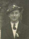 """1940er - Johann Schmidt als """"Kössenbitter"""""""