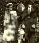 1950er - Ausflug mit Luftballon