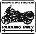 Honda PanEuropean Parking only