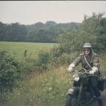 1974 - Motorrad- Streife