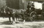 1950er - Auf dem Ackerwagen