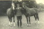 1940/50er - Heinrich Schmidt mit Pferden