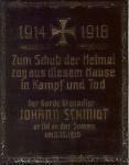 1916 - Erinnerungstafel