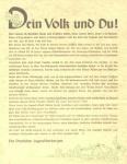 1930er - Dein Volk und Du